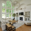 feature windows to define the space & style