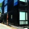 Modern Flat Casements + Slimline Picture Windows in the Toronto Container House