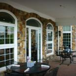colonial internal grilles provide a traditional appearance
