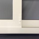 REHAU Integrated Secondary Lock on Sliding Door